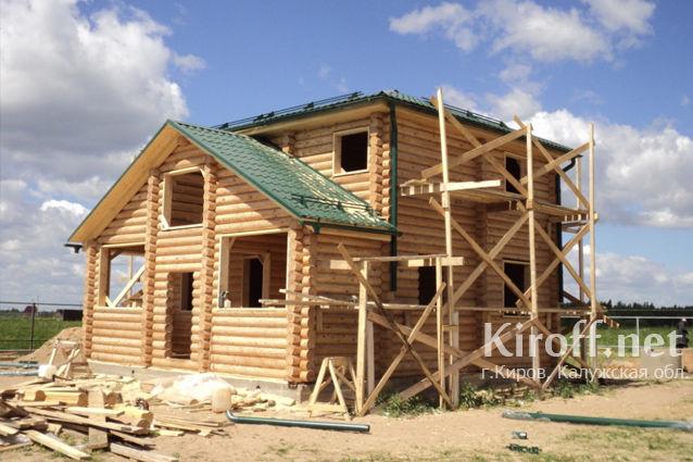 Дома из дерева под ключ в Калуге