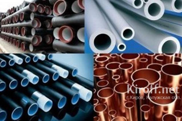 Пластиковые трубы для водопровода